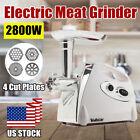 2800W Electric Meat Mincer Grinder Sausage Maker Mincer Stuffer Mincing Machine photo