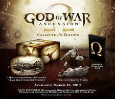 God of War Ascension Collector's Edition PS3 Playstation 3 - NEW & SEALED