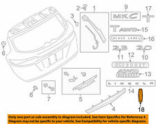 Ford/Lincoln OEM 2015-2016 MKC Front Bumper Grille Ornament EJ7Z5842528A NIP