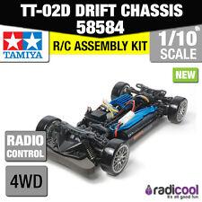 NUOVO! 58584 TAMIYA tt-02d 4x4 Drift Spec TELAIO 1/10th RC Auto KIT