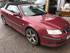 05 SAAB 9-3 CONVERTIBLE BREAKING FOR PARTS / FOUR WHEEL NUTS / 294 / CABRIOLET