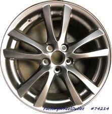 2006 2007 2008 2009 Lexus IS350 18x8.5 Alloy Wheel # 74214 Hypersilver Rear