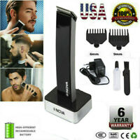 Rechargeable Men Electric Hair Clipper Shaver Beard Razor Trimmer Shaving Kit