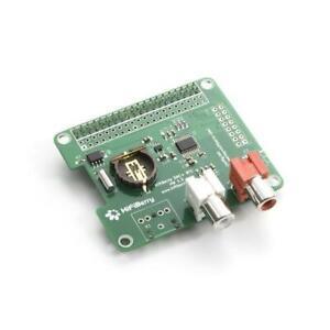 HiFiBerry DAC+ mit RCA Ausgang und Realtime Clock - Soundkarte für Raspberry Pi