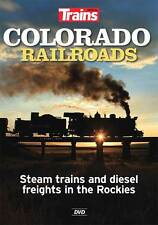 Colorado Railroads Steam Trains and Diesel Freights in the Rockies DVD