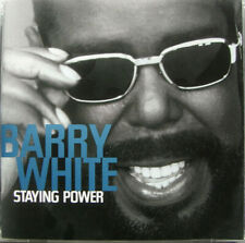 6 CDs BARRY WHITE Let The Music Play Staying Power The Man Is Back The Icon +2