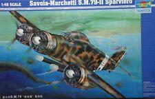 Savoia-Marchetti S.M.79-II Sparviero - art. 02817 - Trumpeter 1/48