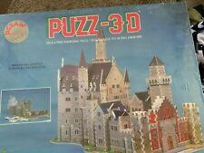 NEW VINTAGE 1991 WREBBIT PUZZ 3D BAVARIAN CASTLE PUZZLE FACTORY SEALED 917 Pcs