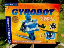Thames & Kosmos Gyrobot Gyroscopic Science Robot Kit - 102 Pieces 7 experiments