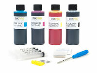 InkPro Combo Ink Refill Kit for Canon PG-240/240XL/CL-241/241XL 4oz/118mL