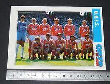 URSS CCCP USSR TEAM FICHE ONZE MONDIAL COUPE MONDE FOOTBALL ITALIA 90 1990