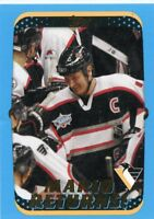 MARIO LEMIEUX 2001-02 Topps Mario Returns! #330 Pittsburgh Penguins