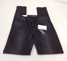 YUMMIE BY HEATHER THOMPSON WOMEN'S MID-RISE SKINNY JEAN CHARCOAL 26x31 NWT $118