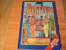 "The Beatles:""Musical Pop Up""Hardcover Book by Rob Burt BONANZA Pop up-3Dbook1985"