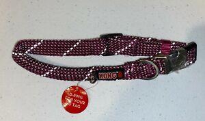 Kong Dog Collar Rope Dog Pink Large