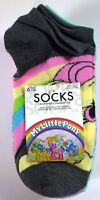 6 PAIRS WOMENS GIRLS MY LITTLE PONY MULTICOLOR NO SHOW SOCKS SIZE 9-11 L153
