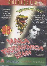 MALA PRODAVNICA UZASA DVD Little Shop Of Horrors English Srpski 1960 Film Frenk