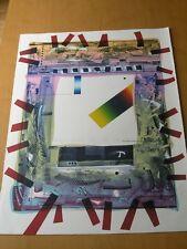 David Faber Original Art Print Titled Janela Para Iglesias Signed 27/70 1986