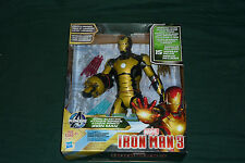 "Glow in the Dark 12"" Iron Man 3 Sonic Blasting Light & Sound Action Figure MISB"