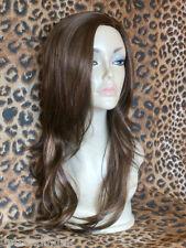 high heat resistant lady wig ladies wigs dark brown & medium auburn 4/30# T-007