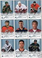 03-04 UD Premier Erik Westrum /399 Rookie Super Rookies 2003 Coyotes
