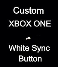 1x White Custom Xbox One Sync Button - Replacement Controller Sync Button