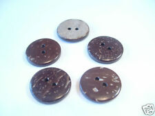15 X Chino 20 mm Coco Botones: bncbutt03