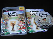 Playstation  PS 3 PS3 complete in case 2010 FIFA World Cup South Africa tested