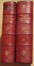 FORGUE Emile RECLUS Paul - TRAITE DE THERAPEUTIQUE CHIRURGICALE - COMPLET - 1898