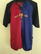 Nike FC Barcelona 1999-2000 Centennial Shirt S size
