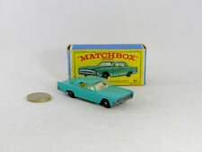 Matchbox Series # 31c  Lincoln Continental regular wheels NM/B (# MBA)