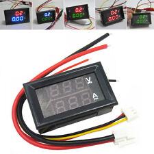 Dc 0 100v 1a 10a 50a 100a Led Digital Voltmeter Ampere Volt The Ammeter Voltage