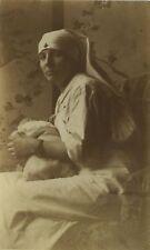PHOTO ANCIENNE - VINTAGE SNAPSHOT - ENFANT BÉBÉ INFIRMIÈRE - BABY CHILD NURSE