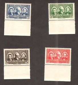 Algeria 1939 - Pioneers of  the Sahara - 4v ,Scott# B28/31- MNH Set , Margins **