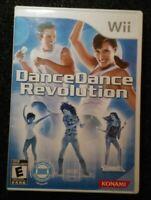 Dance Dance Revolution DDR Nintendo Wii Complete Rare Video Game tested Konami