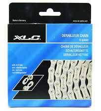 XLC 9 Speed Bicycle Chain BCH 0410 with Connex Link - 114 Links