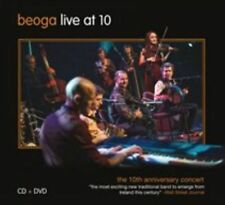 """Beoga """"Live at 10:The 10th Anniversary Concert"""" CD & DVD (New & Sealed)"""