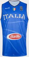 Canotta Blu Gara Divisa Basket Federazione Italiana Pallacanestro Nuova 3XL