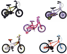 "Childrens Bikes Boys Girls Kids Pink White Green Red Purple Black 12"" 14"" 16"" 18"