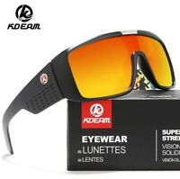 KDEAM Men Sport Polarized Large Oversize Sunglasses Outdoor Driving Goggles Hot