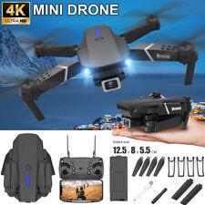 Faltbar WIFI FPV Drohne mit  4K HD Kamera Mini Selfie Quadrocopter RC Drone