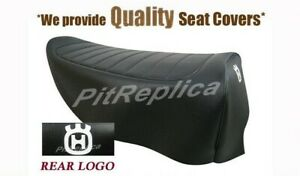 [A799] HUSQVARNA CR250 CR 250 1977 '77 *BLACK SEAT PAN* SEAT COVER [ZAEAL]