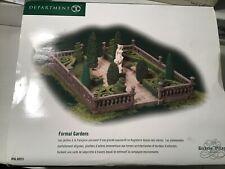 Dept 56 Dickens Village Formal Gardens New outdoor accessory 56.58551