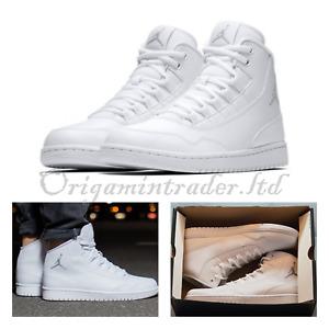 Nike Air Jordan Executive High Top All White 820240-100 Size 12 UK, 47.5 EUR