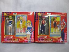 Lot 2 Cutey Honey Figure Petit Honeys Bandai Japan Official
