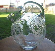 Cambridge USA DIANE Ball Tilt Pitcher - Etched, Crystal Clear
