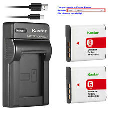 Kastar Battery Slim Charger for Sony NP-BG1 NP-FG1 Sony Cyber-shot DSC-H3 Camera