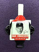 1958 Vintage Armour Tab San Francisco Giants Curt Barclay Baseball Pin
