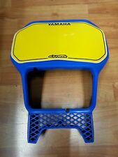 Mascherina portafaro anteriore blu  Yamaha  XT600 2kf  1987/1989