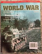 World At War (NO GAME) Panzers East Army Group Center Dec 2015 FREE SHIPPING!